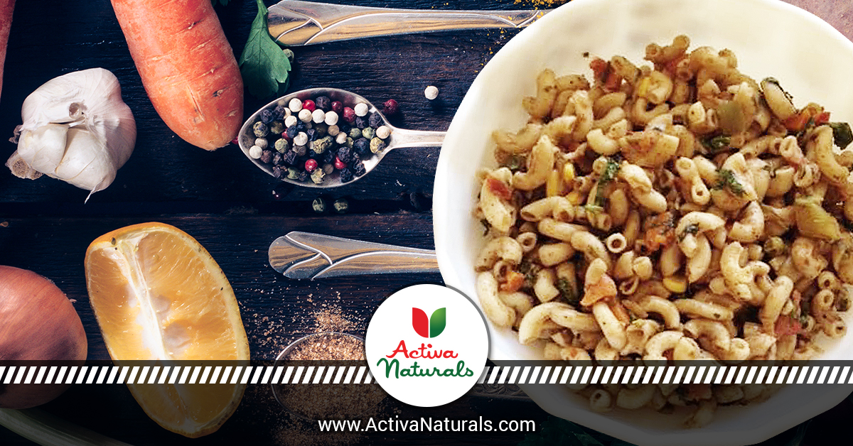 How to Make Pasta Tasty & Healthy by Adding Just 5 Spices