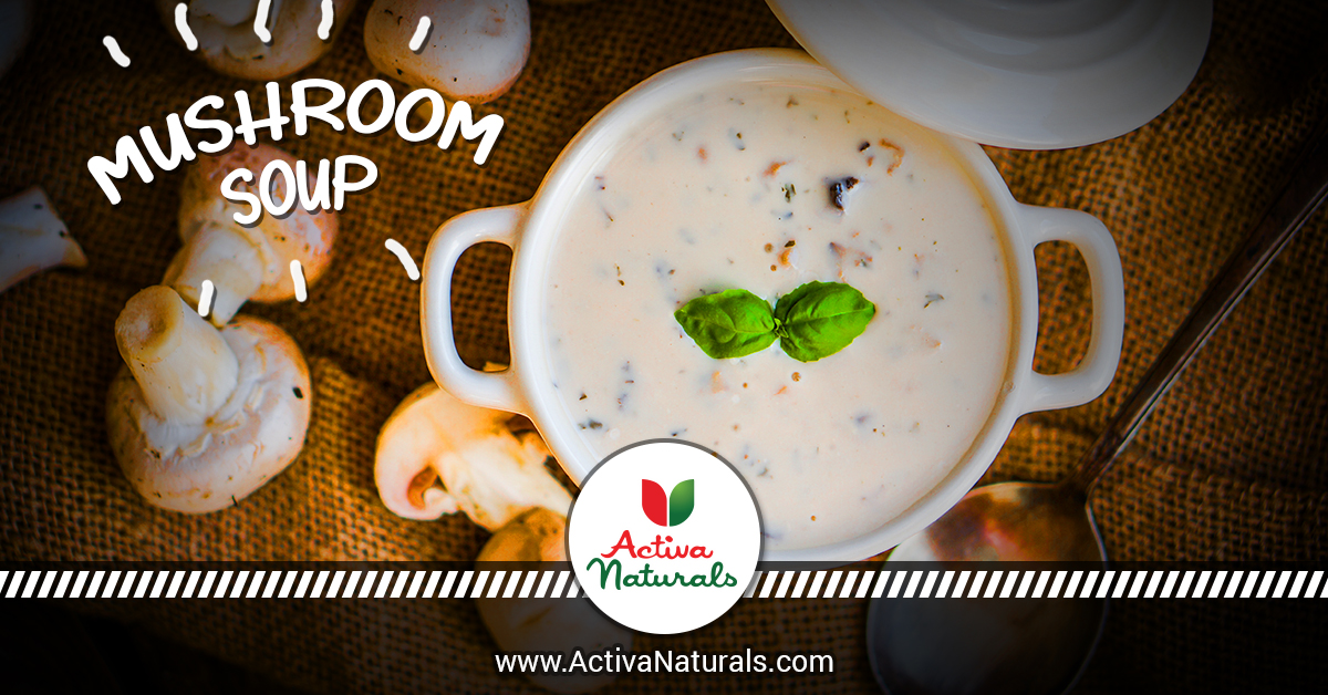 Mushroom Soup without Cream